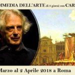 STAGE di Commedia dell'Arte con CARLO BOSO – Seminario