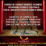Corso di Combattimento Scenico – a cura del Teatro degli Esuli