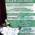 un 48 Zoccoli in casa Zoccoli – Compagnai Pulcinellarte ospite di Ygramul