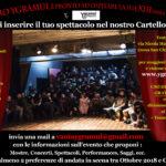 Entra nella Nuova Rassegna del Teatro Ygramul!