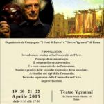 STAGE di Commedia dell'Arte del Maestro CARLO BOSO – Organizzato dal Teatro Ygramul