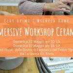 Immersive Workshop Ceramica con Cly By Mi – Michela Dawe