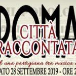 ROMA CITTA' RACCONTA – Spettacolo di Narrazione a cura del NoveNovePosti