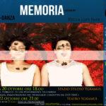 """""""MEMORIA – Ceneri"""" – Spettacolo di Teatro Danza contemporanea"""